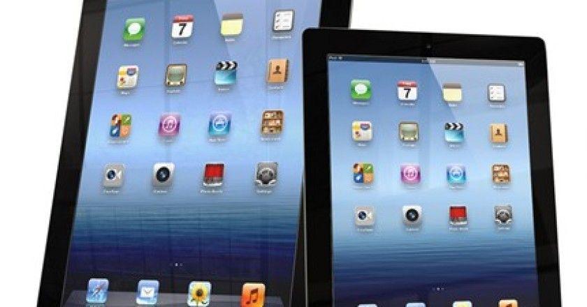 Dos iPad mini Retina