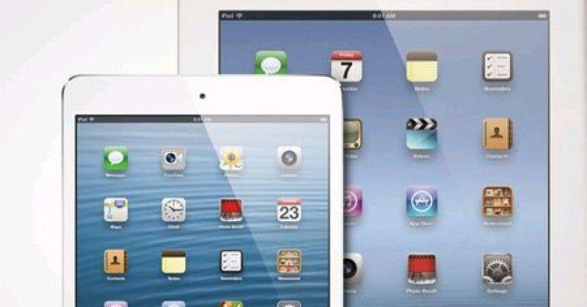Apple podría lanzar un iPad Maxi contra Ultrabooks