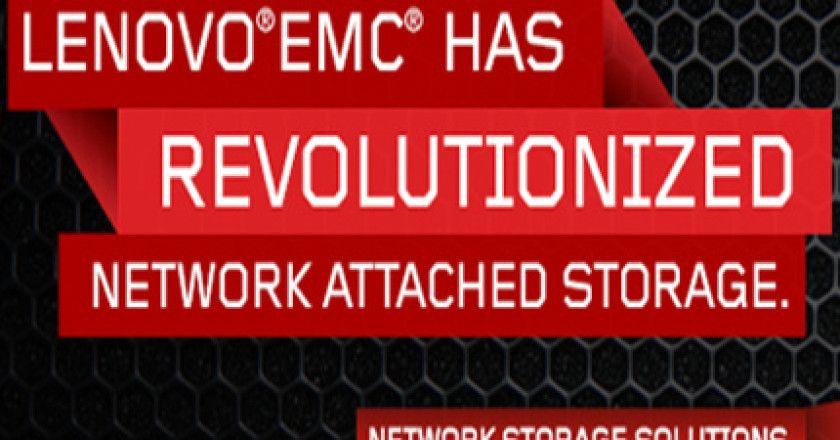 Iomega se convierte en LenovoEMC