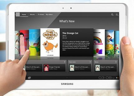 Samsung utilizará chips Intel en tablet Galaxy 3