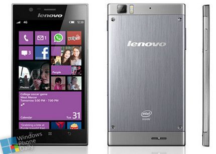 Lenovo fabricará smartphones con Windows Phone