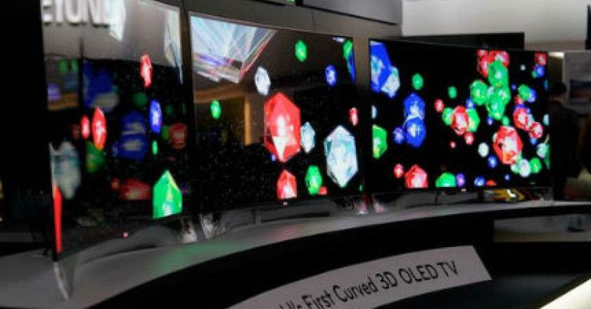 LG pone a la venta el primer TV OLED curvado