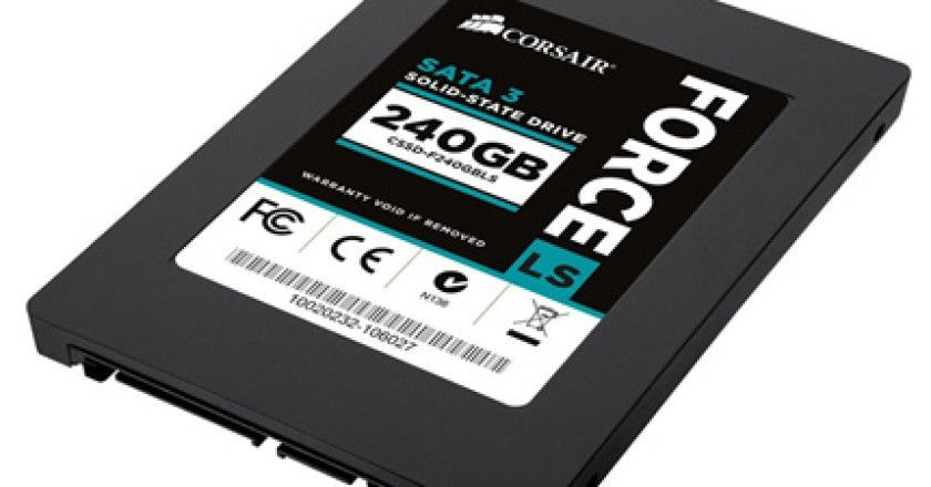 Corsair introduce nuevas SSD Force LS