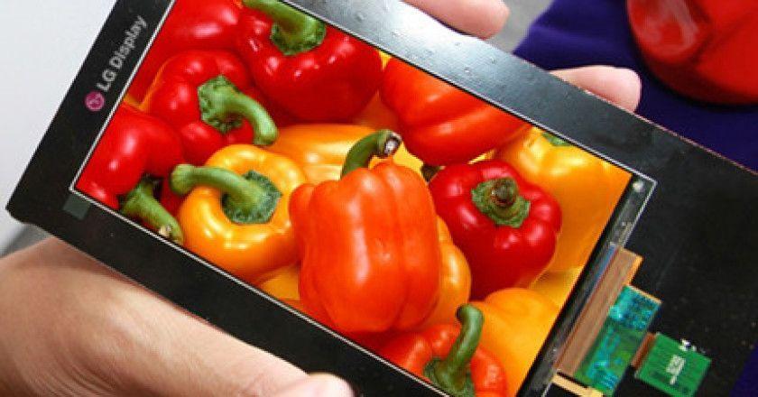 LG presenta pantallas Quad HD para smartphones