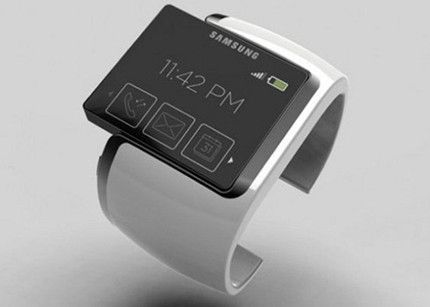 Samsung patenta su reloj inteligente Galaxy Gear