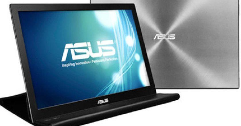 ASUS presenta monitor portátil USB