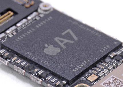 El A7 de Apple es de Samsung, la sociedad continúa