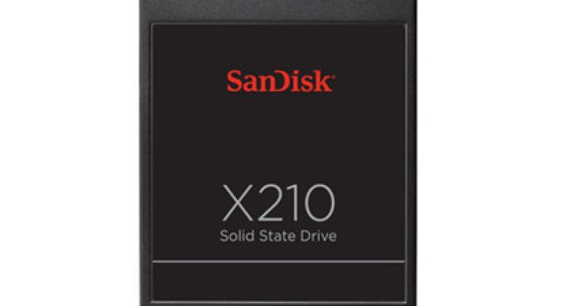 SanDisk presenta la SSD X210