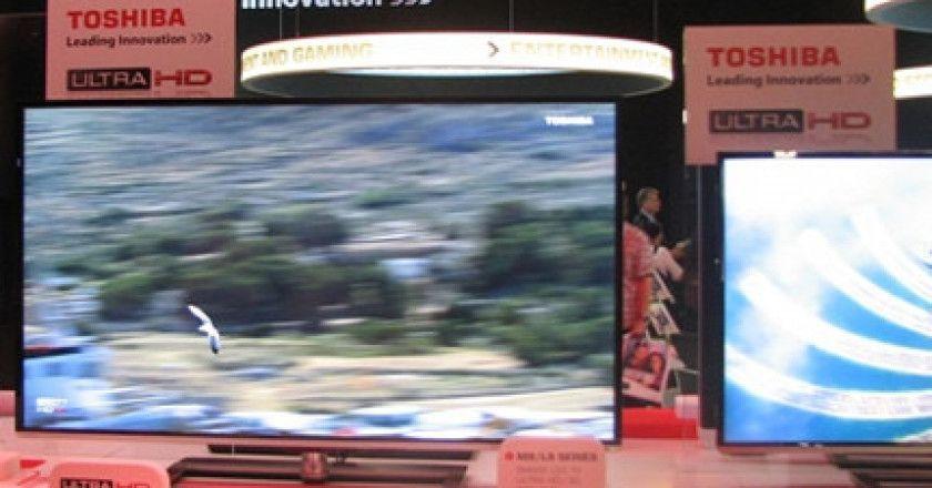 Toshiba presenta televisores 4K