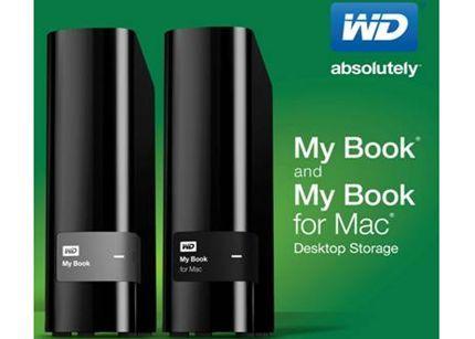 WD presenta nueva línea de discos externos My Book