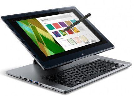 Acer Aspire R7, híbrido con Haswell y stylus