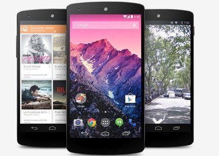 Nexus 5 y Android 4.4 KitKat ya están en el mercado
