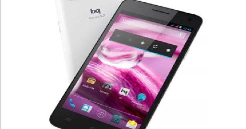 bq, tercero en venta de smartphones libres en España