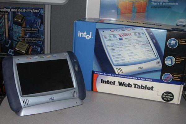 Intel Web Tablet, el iPad de Intel que no llegó al mercado