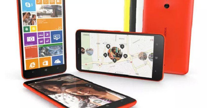 Nokia comercializa el phablet económico Lumia 1320
