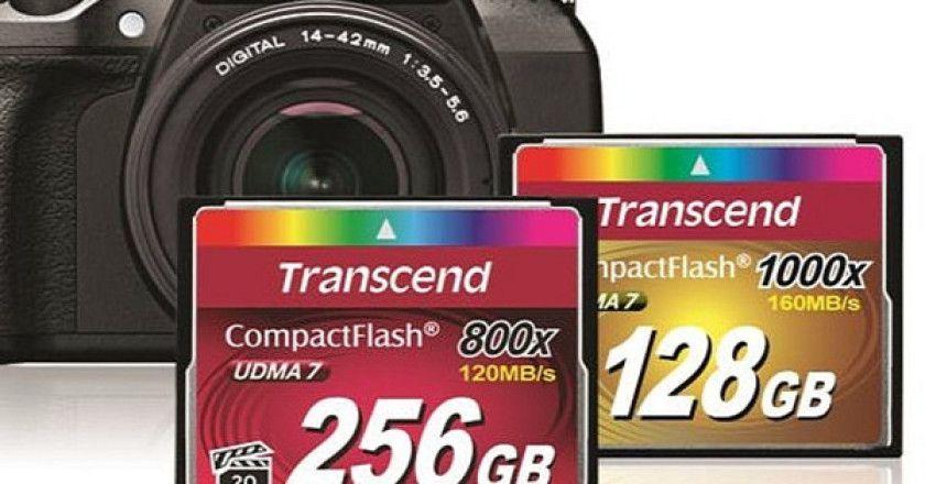 CompactFlash Premium Transcend Series 800x
