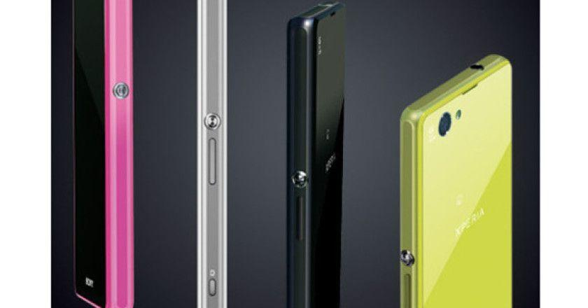 Xperia Z1 f, el mini de Sony llega al CES
