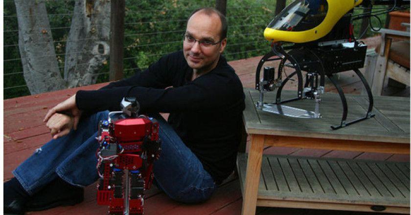 Los robots Google serán responsabilidad del creador de Android