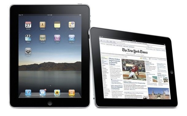 "Publicity photo of the Apple ""iPad"""