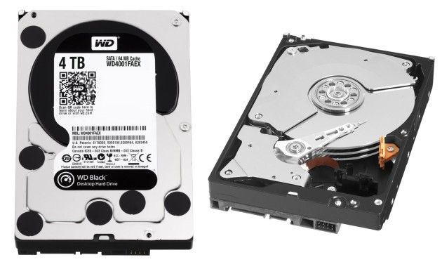 WD Black de 4 TB i301mx