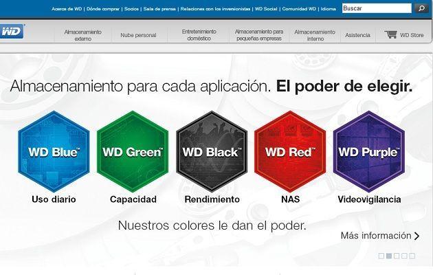 HDDs en colores i031mx