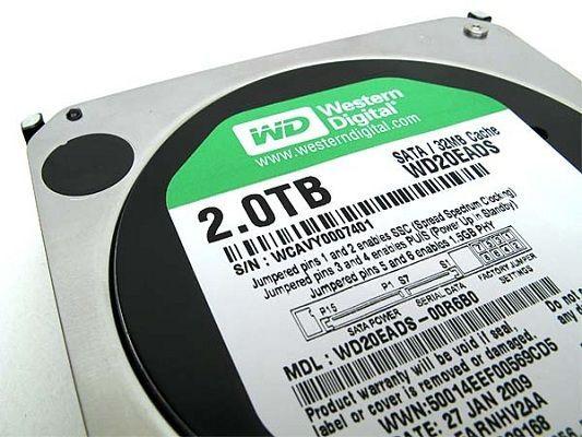 WD Green de 2 TB