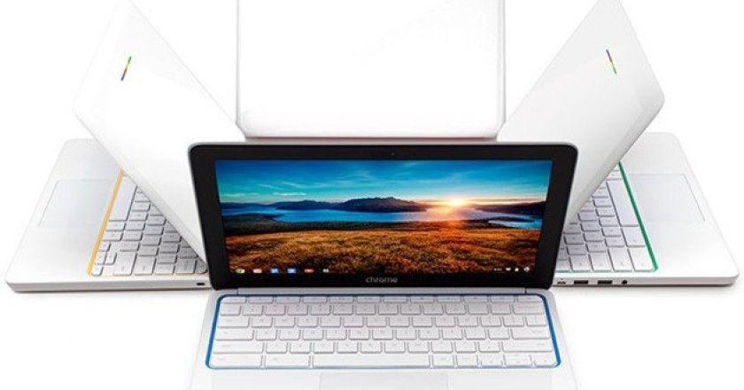 ventas de Chromebooks