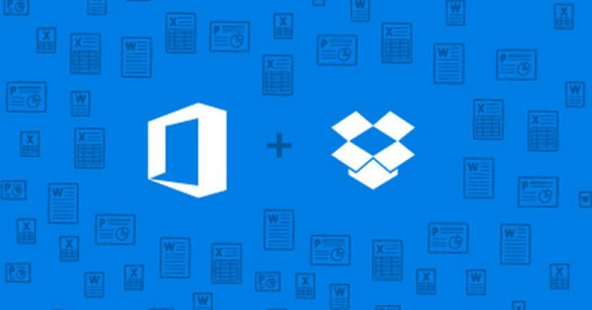 Microsoft y Dropbox