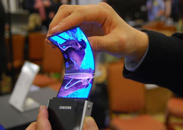 Smartphone flexible Samsung