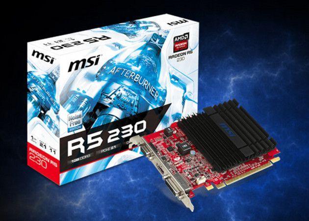 MSI R5 230