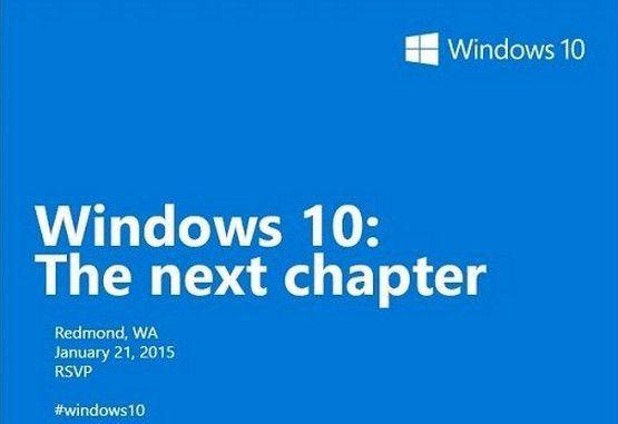 evento Windows 10