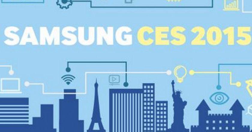 Samsung en CES 2015