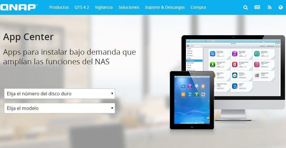 App Center, uno de los grandes valores de QNAP