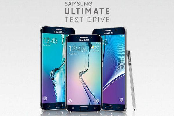 prueba de terminales Samsung