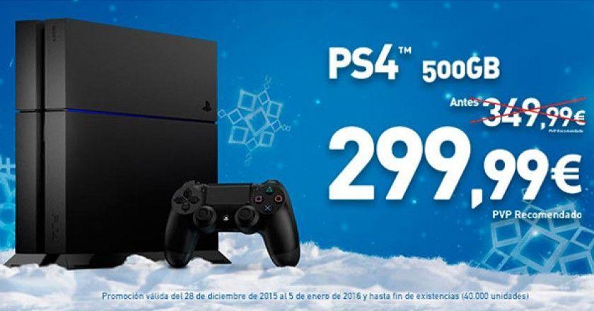 precio de PS4