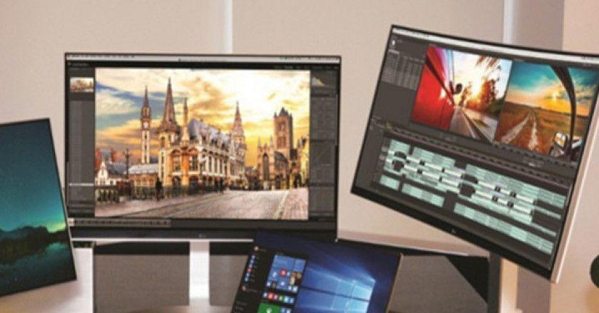 monitores 4K LG