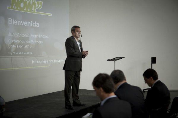 Juan Antonio Fernández (CEO de Unit4) bis