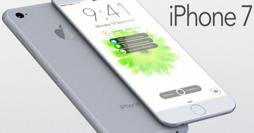 producción del iPhone 7