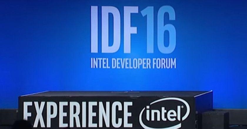 Intel Developer Forum 2016