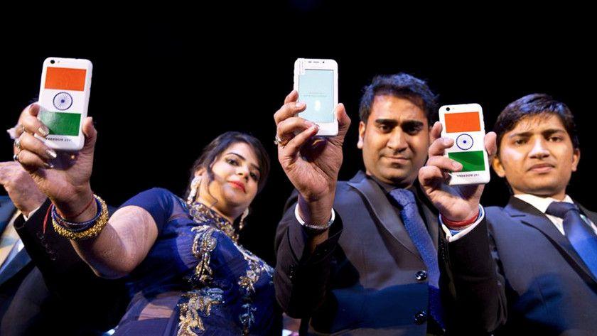 móviles en India