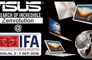 ASUS en IFA 2016