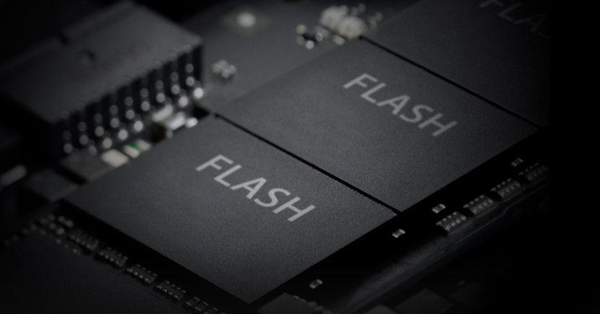memoria flash NAND