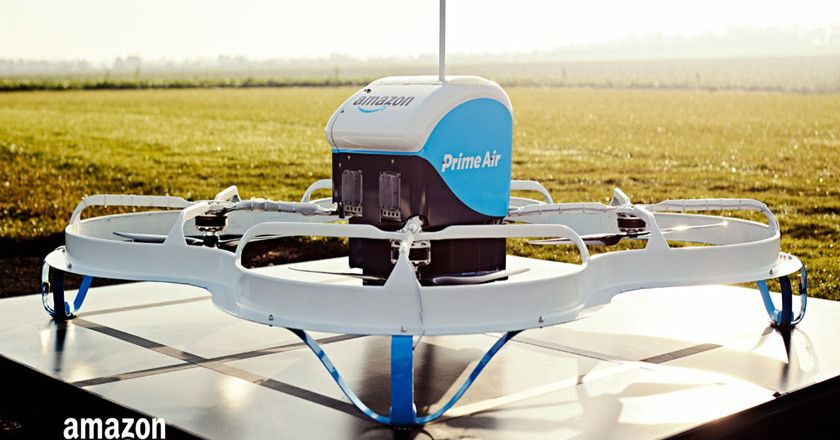 pedido comercial con drone
