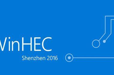 WinHEC 2016