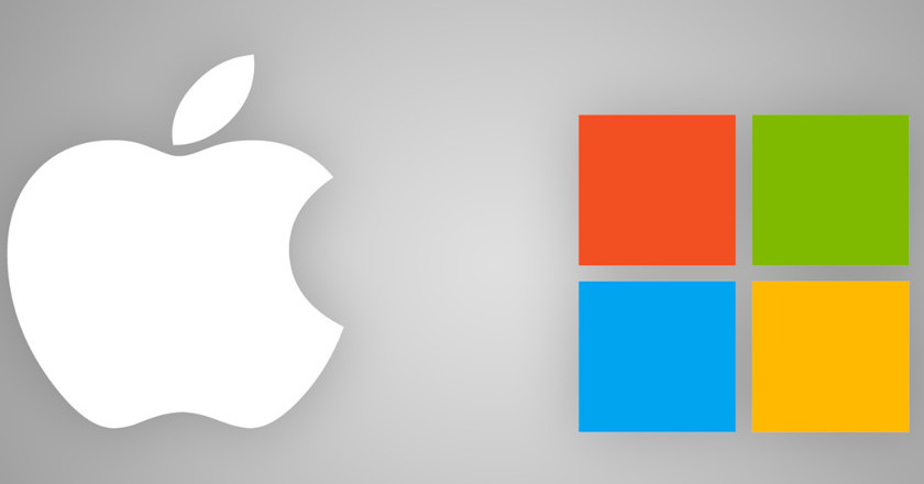 Apple superará a Microsoft