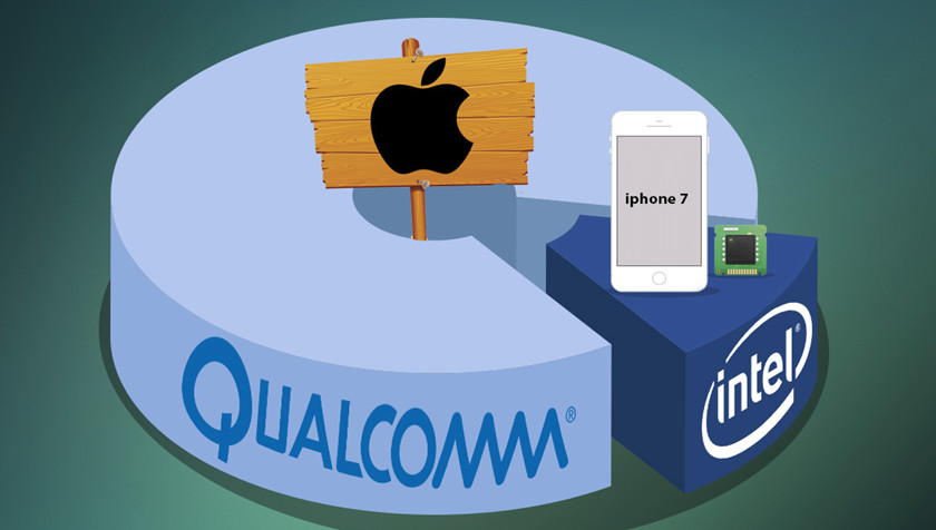 Apple y Qualcomm