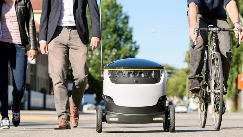 envíos con robots