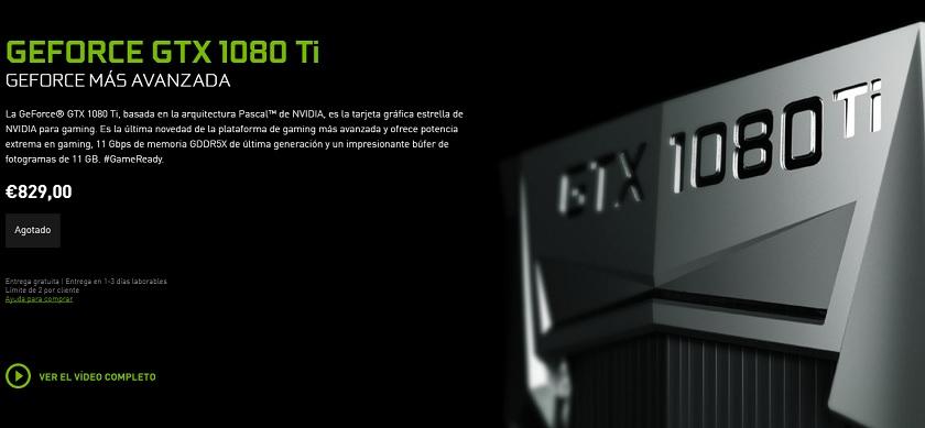 la GTX 1080 TI