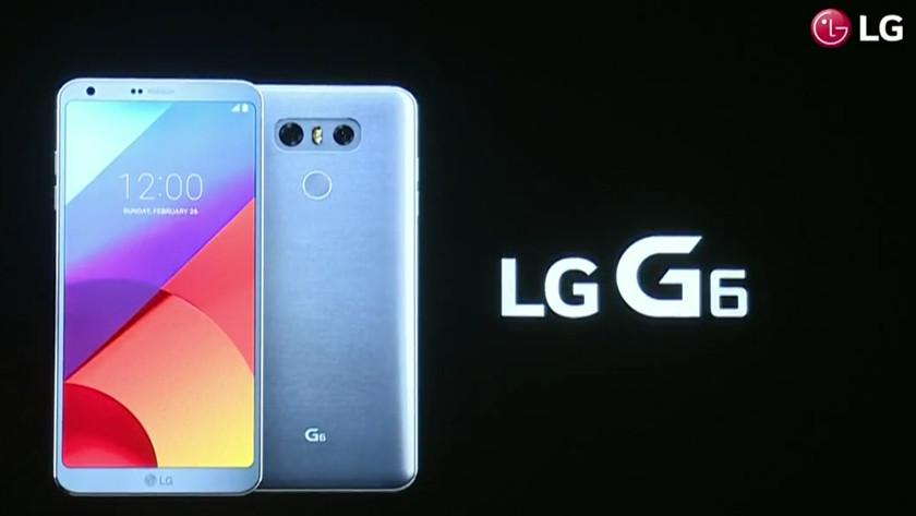 precio del LG G6 en Europa