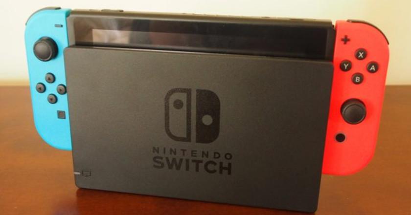 producción de la Switch